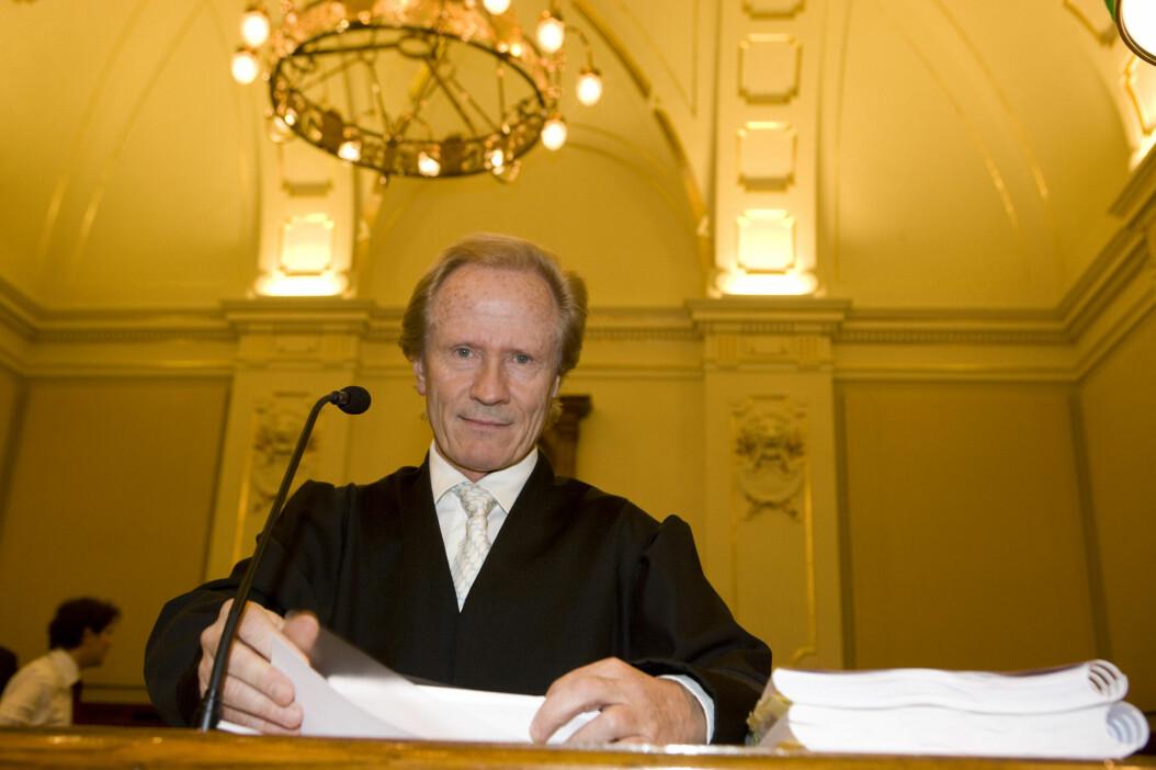 Advokat Per Danielsen kaller NRKs sending av Jackson-dokumentaren for skammelig og rettsstridig. Foto: Berit Roald / NTB scanpix
