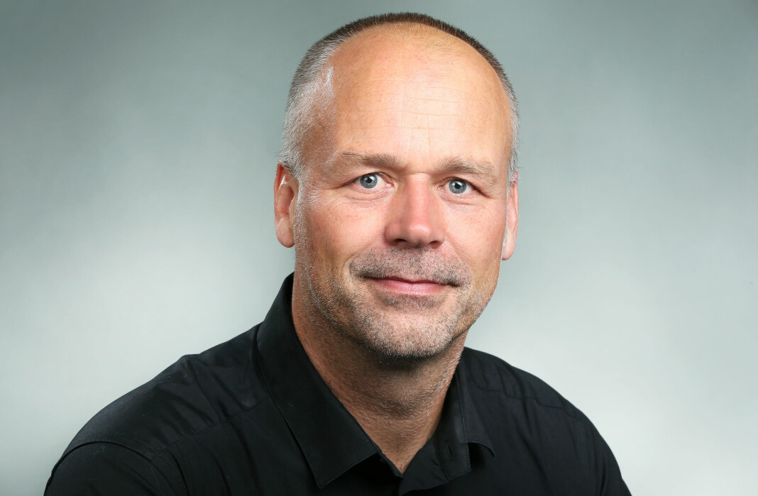 Marius Hoel skal fungere som radiosjef i NRK frem til sommeren. Foto: Ole Kaland/NRK