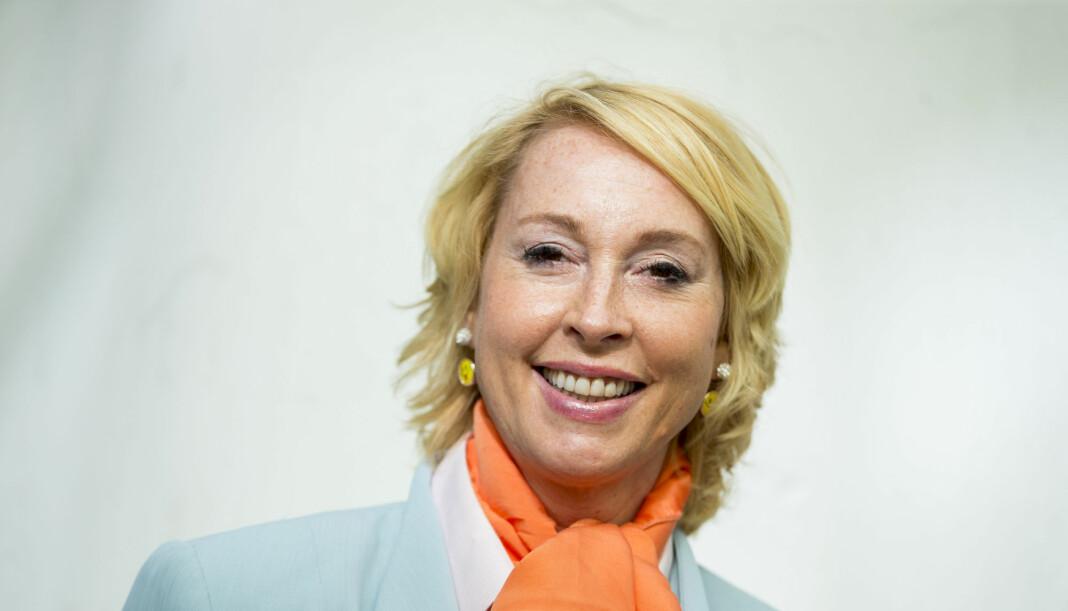 Lise Askvik er klar for radiocomeback på Radio Vinyl – men fortsetter også som helsepolitiker. Foto: Vegard Wivestad Grøtt / NTB scanpix