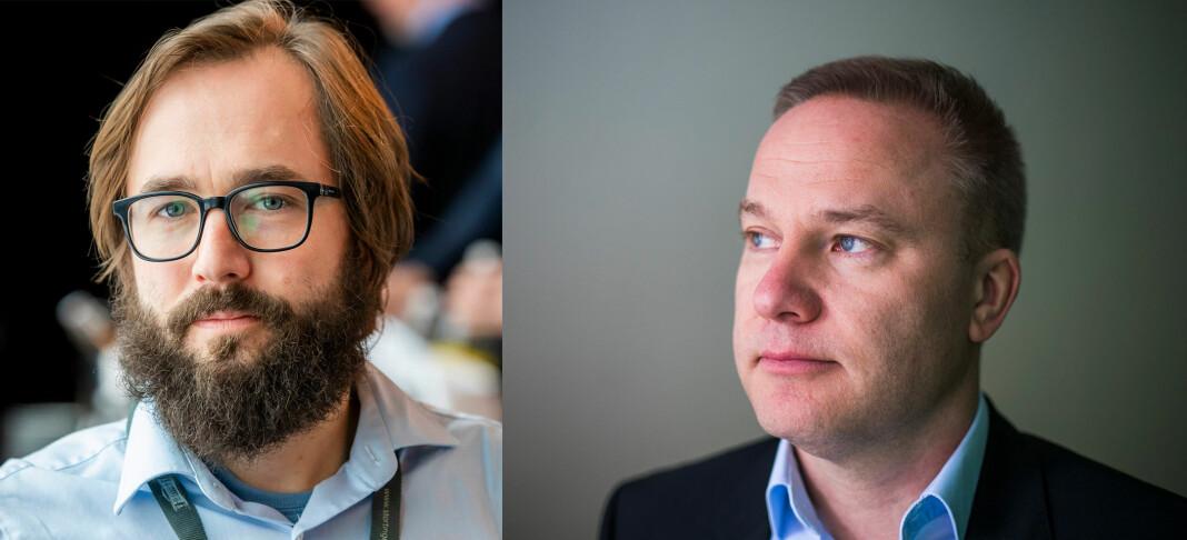 Når Resett-redaktør Helge Lurås skjeller ut Filter Nyheter-redaktør Harald S. Klungtveit, våkner giverglede i kommentarfeltet. Foto: NTB scanpix