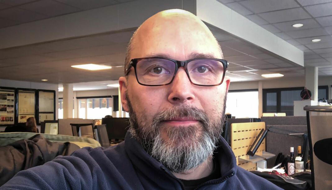 Journalist og klubbleder i iTromsø, Christer Pedersen.
