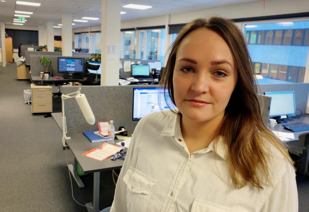Silje Løvstad Thjømøe er leder i Troms Journalistlag og journalist i iTromsø. Foto: Preben Olsen/iTromsø