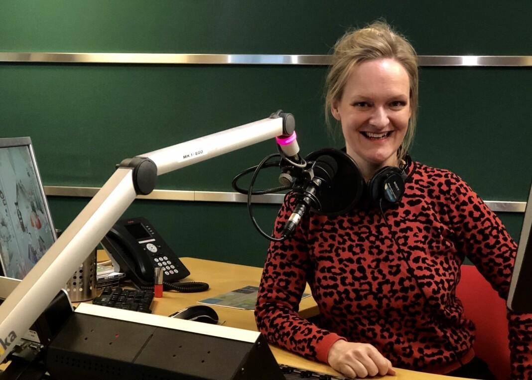 Ragna Nordenborg går i gang med sin siste sesong som programleder for podkasten Oppdatert.