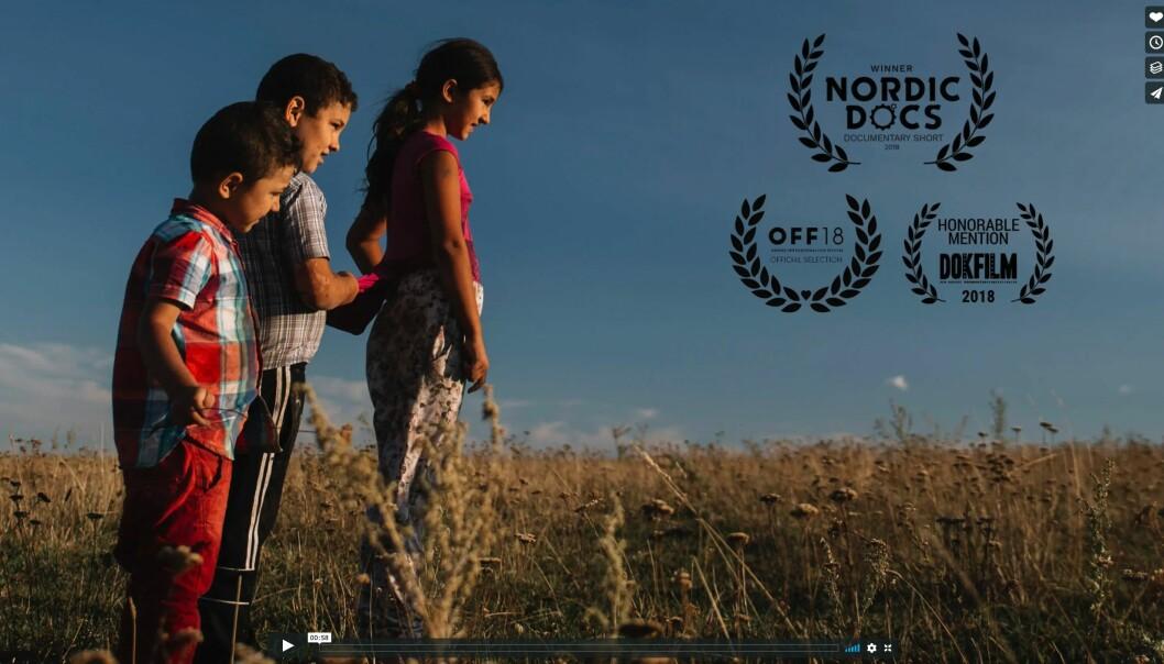 «The Dry Valley» handler om rumenske migranter. Skjermdump, Differ media, Vimeo