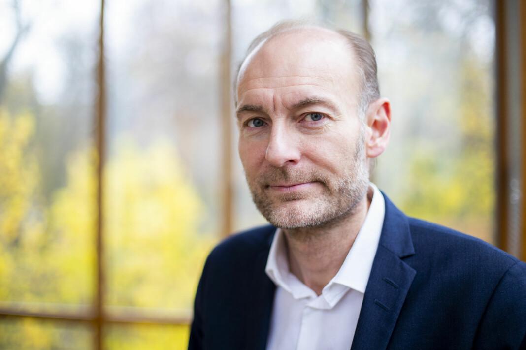 Fritt Ord-direktør Knut Olav Åmås er kritisk til uttalelser fra toppolitikere som har kritisert teaterstykket «Ways of Seeing». Foto: Håkon Mosvold Larsen / NTB scanpix