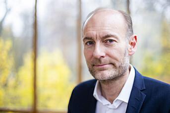 Fritt Ord-direktør Knut Olav Åmås er spaltist i Aftenposten Lørdag. Foto: NTB scanpix