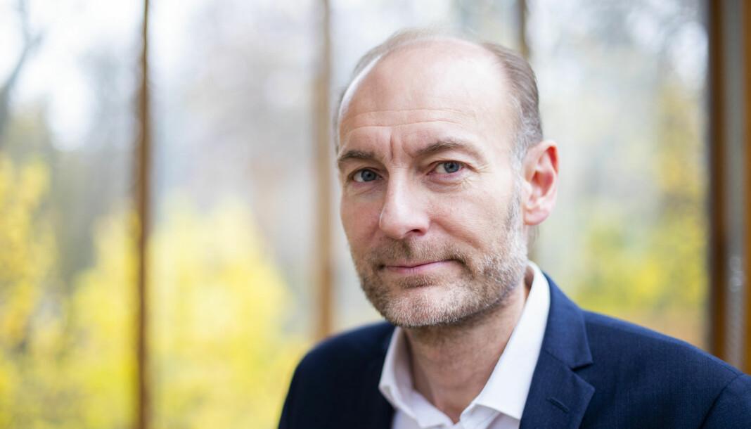 Fritt Ord-direktør Knut Olav Åmås er kritisk til det som skjer i Morgenbladet akkurat nå. Foto: Håkon Mosvold Larsen / NTB scanpix