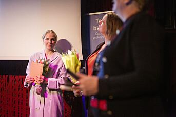 Therese Alice Sanne og Monica Strømdahl får siste Karina Jensen-stipend fra minnefondet