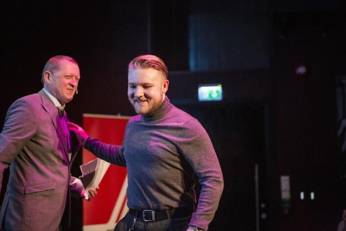 Frilans fotojournalist Odin Jæger vant pris for årets beste nyhetsbilde i Norge 2018. Foto: Kristine Lindebø