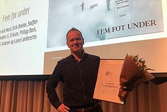 Best i vest: BT-journalister hedret med Gullparaplyen for internasjonal suksess