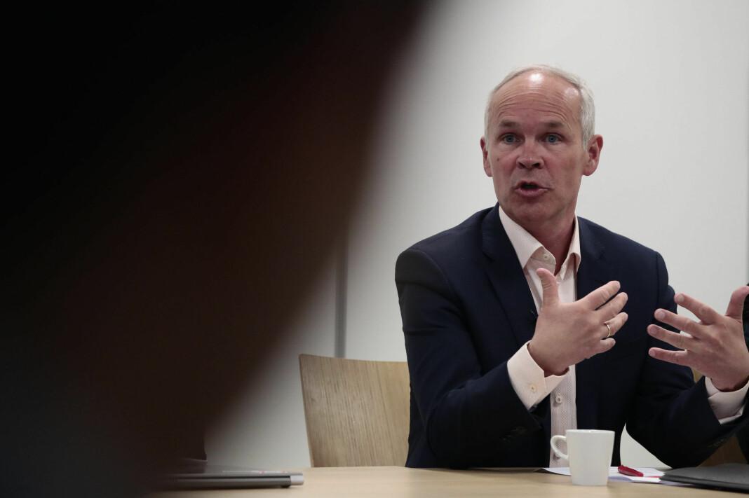 Kunnskaps- og integreringsminister Jan Tore Sanner reagerer sterkt på kommentarer Resett har sluppet gjennom i sitt forhåndsmodererte kommentarfelt. Foto: Lise Åserud / NTB scanpix