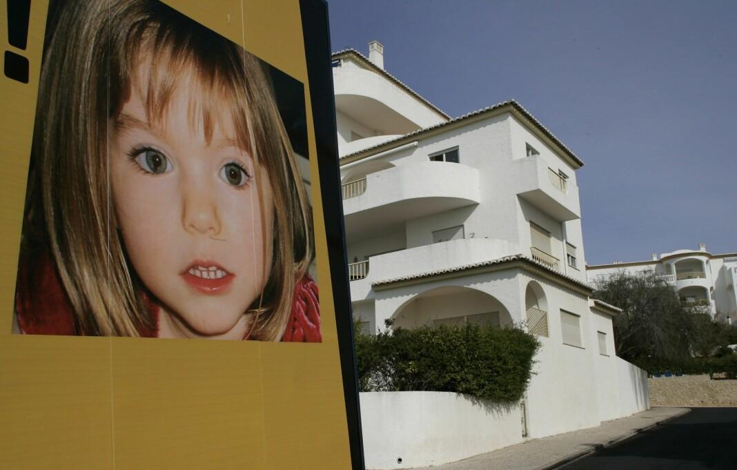 Madeleine McCann var nesten fire år da hun forsvant fra familiens feriebolig i Praia da Luz i Portugal den 3. mai i 2007. Foto: Hugo Correia / Reuters / NTB scanpix