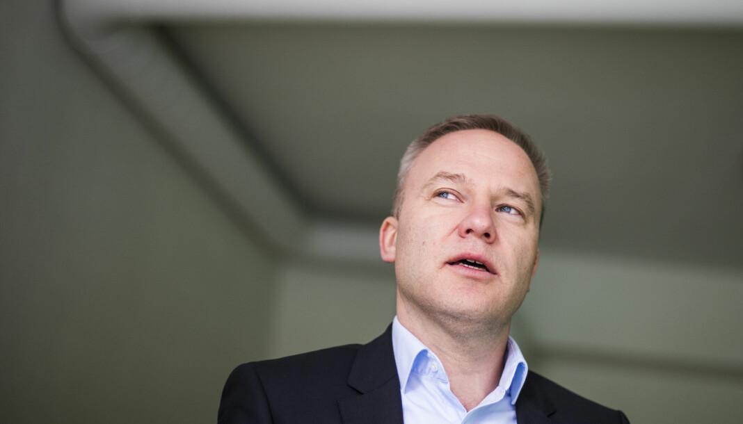 Resett forhåndsmodererer kommentarer som slipper ut på kommentarfeltet. Her redaktør Helge Lurås. Foto: Håkon Mosvold Larsen / NTB Scanpix