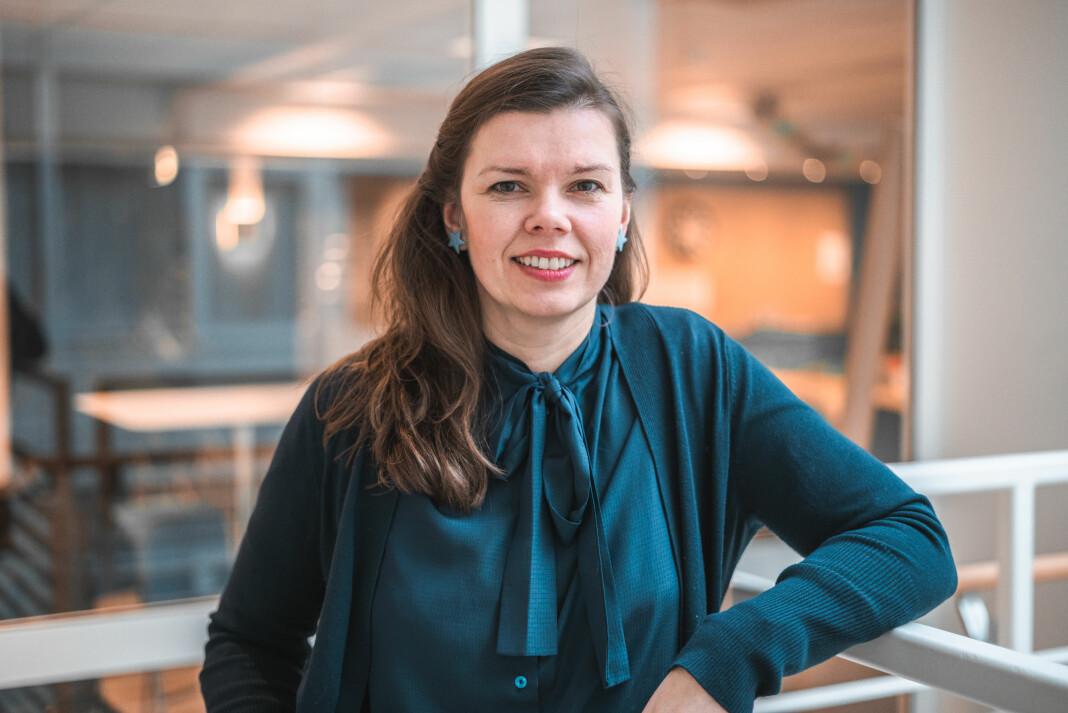 Bente Kalsnes bytter arbeidsgiver. 1. juni går hun til Høyskolen Kristiania. Foto: Høyskolen Kristiania