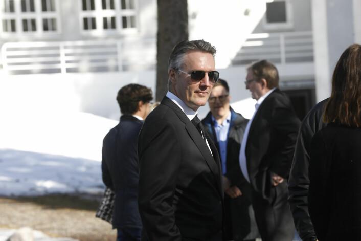 Tidligere Se og Hør-sjef Knut Haaviks hans sønn Svein Arne Haavik. Foto: Tom Hansen / NTB scanpix