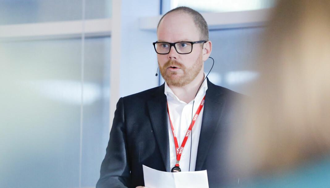 Sjefredaktør i VG, Gard Steiro, sier avisen forstår at det har skjedd en alvorlig feil. Foto: Fredrik Hagen / NTB scanpix