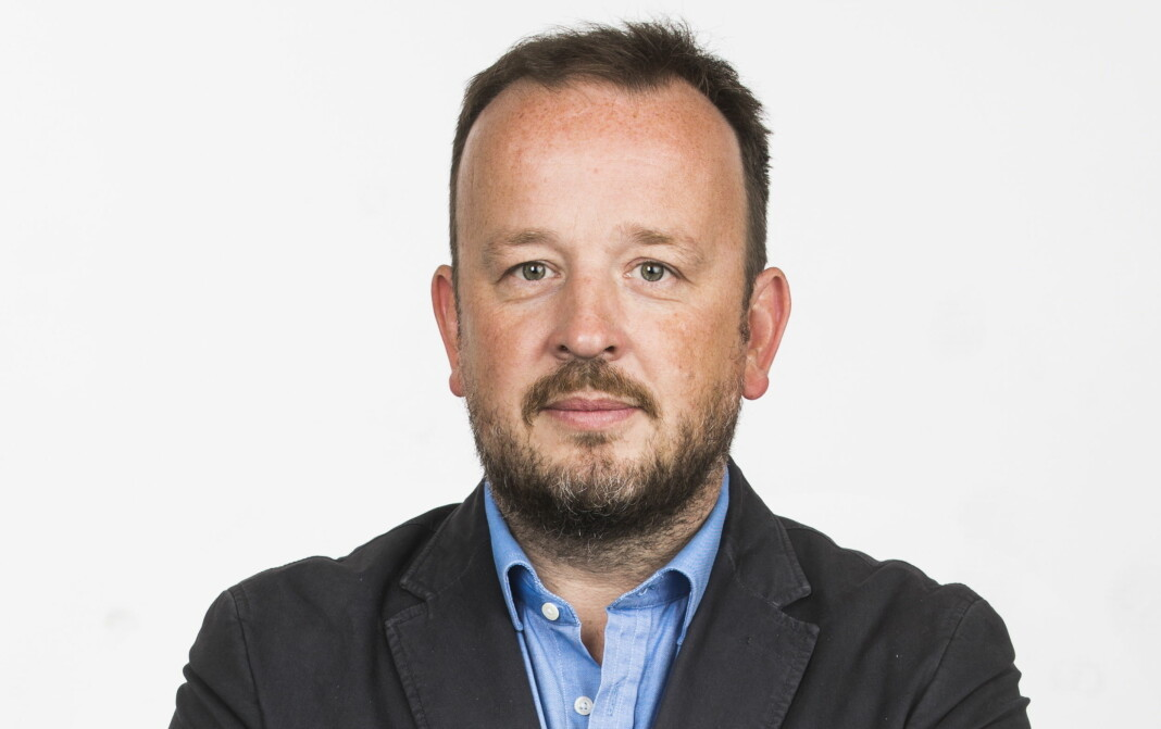 Den tidligere VG-profilen Frithjof Jacobsen har fått jobb i Monster. Foto: Frode Hansen