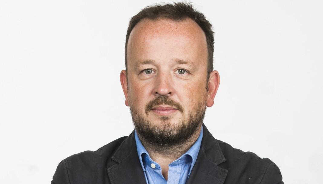 Frithjof Jacobsen går til DN.