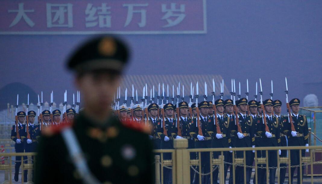– I henhold til ånden fra Beijing skal ikke journalister være en motmakt, men heller tjene statens propaganda, sier RDF-direktør Christophe Deloire. Foto: Reuters / NTB scanpix
