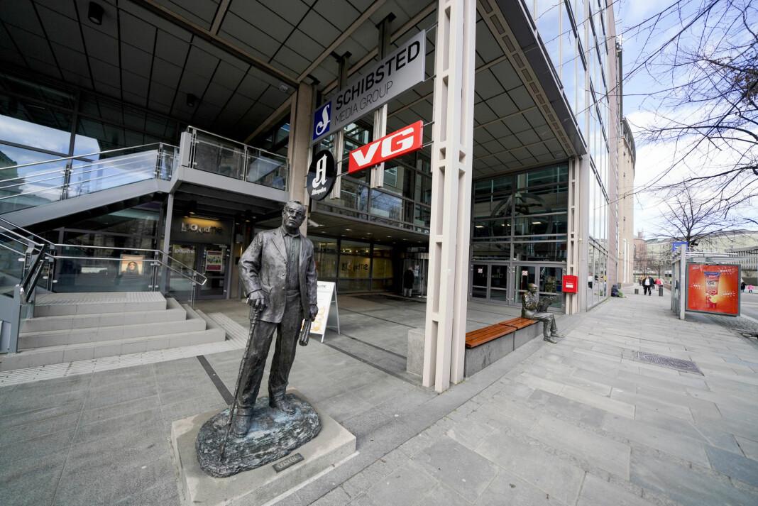 VG gransker seg selv etter saken om videoen med Trond Giske. Foto: Fredrik Hagen / NTB scanpix
