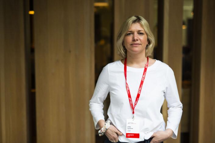 Hilde Ranheim, fotograf og klipper, klubbleder i NJ Mastiff. Foto: Kristine Lindebø