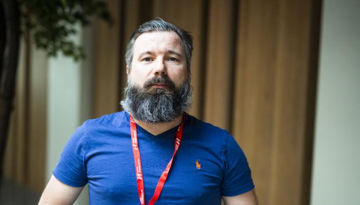 Morten Hansen, LO Media. Vara i OJ-styret. Foto: Kristine Lindebø