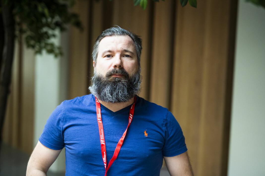 Morten Hansen, fagredaktør i NJF-magasinet i LO Media. Foto: Kristine Lindebø