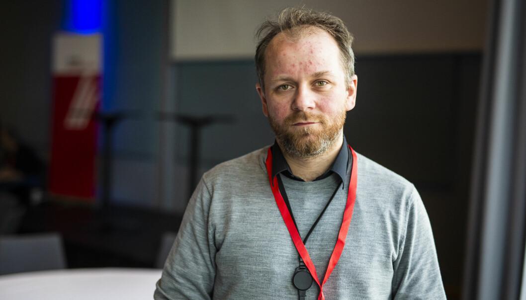 Tor-Erling Thømt Ruud, klubbleder i VG. Foto: Kristine Lindebø