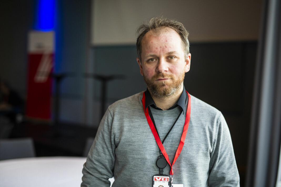 Klubbleder i VG Tor-Erling Thømt Ruud snakket om rollen som klubbleder i en krevende situasjon på NJs landsmøte 2019. Foto: Kristine Lindebø