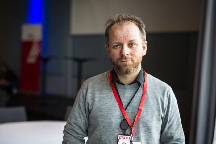 Tor-Erling Thømt Ruud, VG, blir nytt landsstyremedlem i NJ. Arkivfoto: Kristine Lindebø