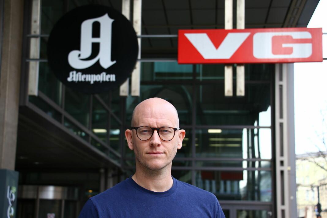 Digitalredaktør Ola Stenberg i VG har vært pressetalsperson for VG i mediestormen avisen har stått i. Han svarer også Journalisten om tirsdagens beklagelse av en artikkel om Hemsedal-saken. Foto: Alexander Vestrum / NTB scanpix