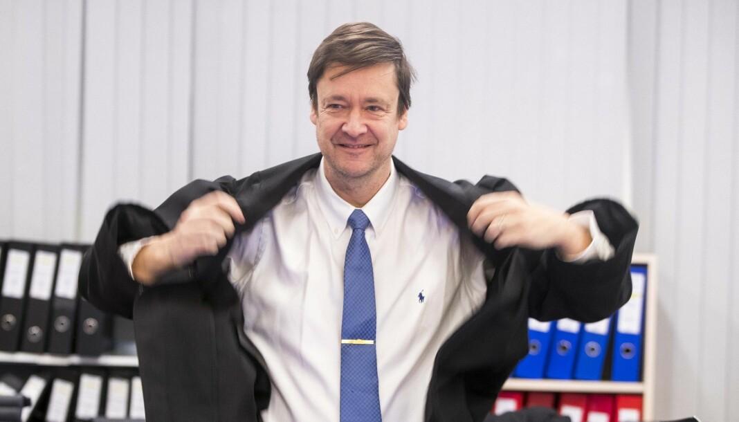 Advokat John Christian Elden har signert Resetts klage til Pressens Faglige Utvalg. Foto: Terje Pedersen / NTB scanpix