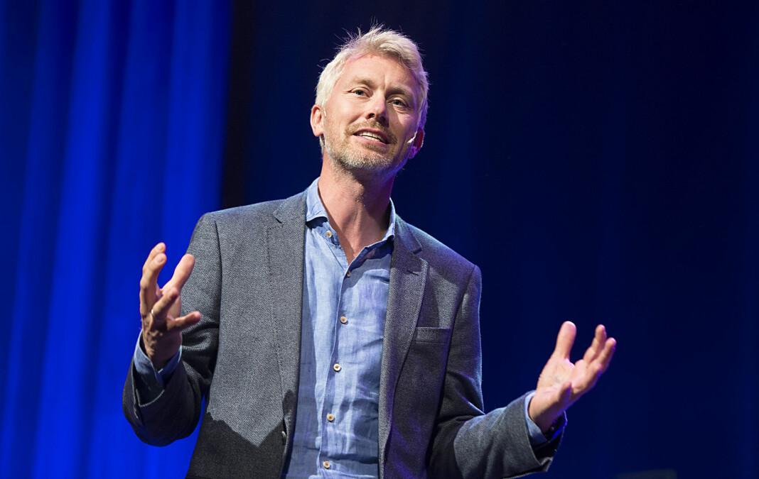 TV 2 sjef Olav T. Sandnes er glad for at TV 2 er tilbake hos Get.