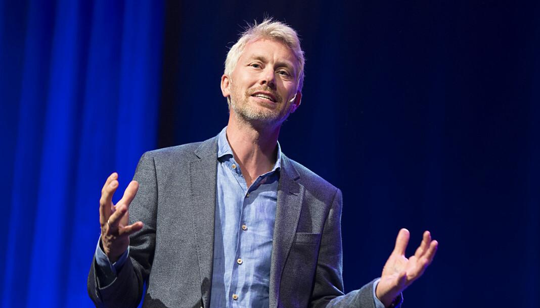 TV 2 sjef Olav T. Sandnes roser VG for at avisa har lovet at Sofie-saken får konsekvenser for deres redaksjonelle rutiner. Foto: Marit Hommedal / NTB scanpix