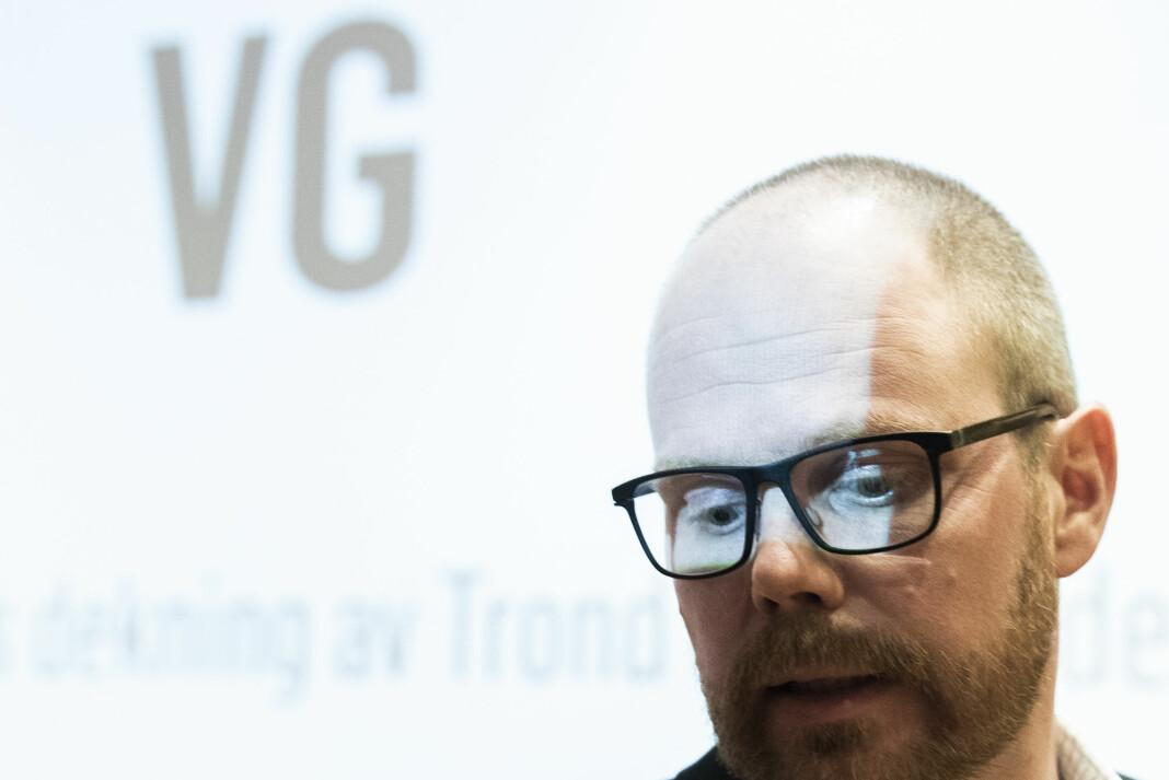 Sjefredaktør Gard Steiro i VG må igjen komme med en beklagelse. Foto: Berit Roald / NTB scanpix