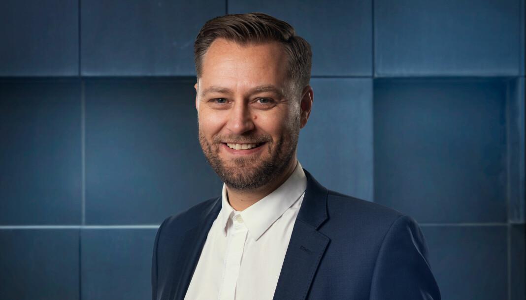 Frank Lynum forlater Aftenposten til fordel for kommunikasjonsbyrået Storm Comunications. Foto: Espen Solli / Storm