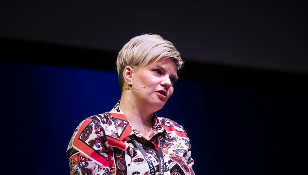 Styreleder i Skup, Silje Sjursen Skiphamn, synes Amedias beslutning er overilt. Foto: Eskil Wie Furunes