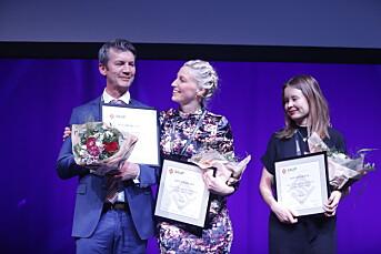 Utskjelte VG ble hedret for fremragende journalistikk med to Skup-diplomer