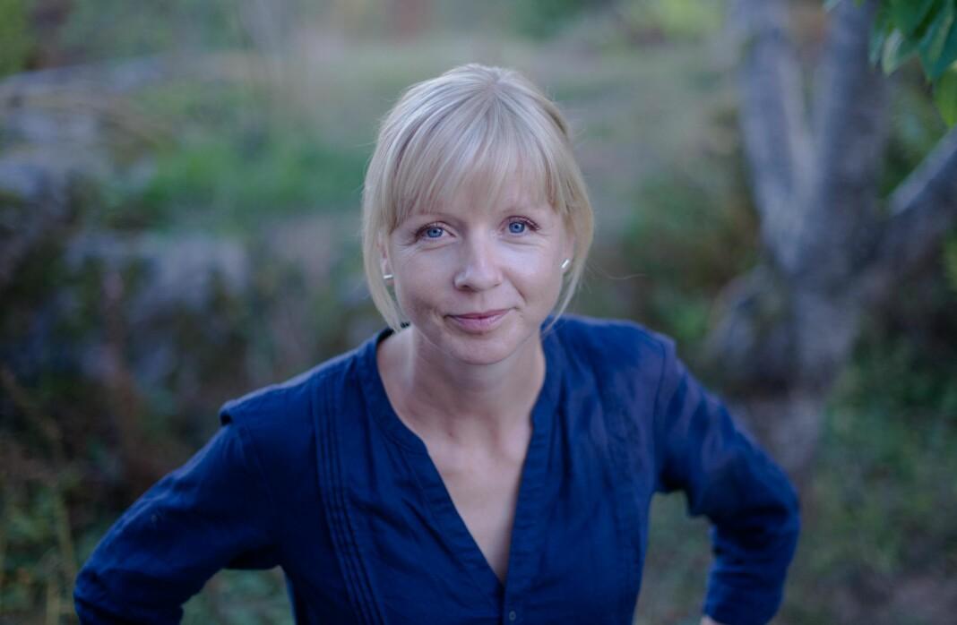 Katrine Gramnæs forlater Den Norske Turistforening for ny jobb som journalist i Dagens Perspektiv. Foto: Privat