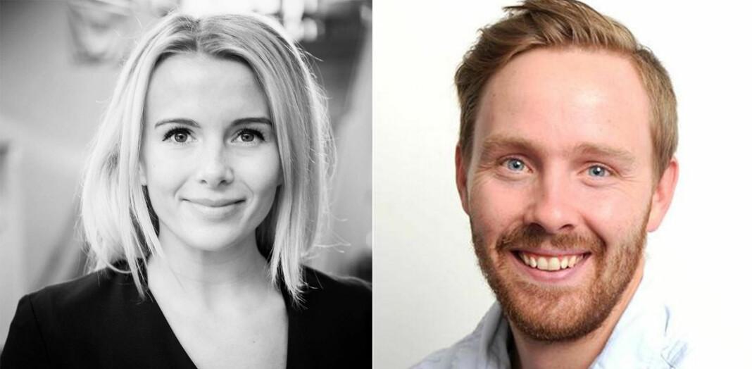 Marie Kalvehagen (29) og Øystein Bjerkestrand (31) har fått jobb i Agderposten.