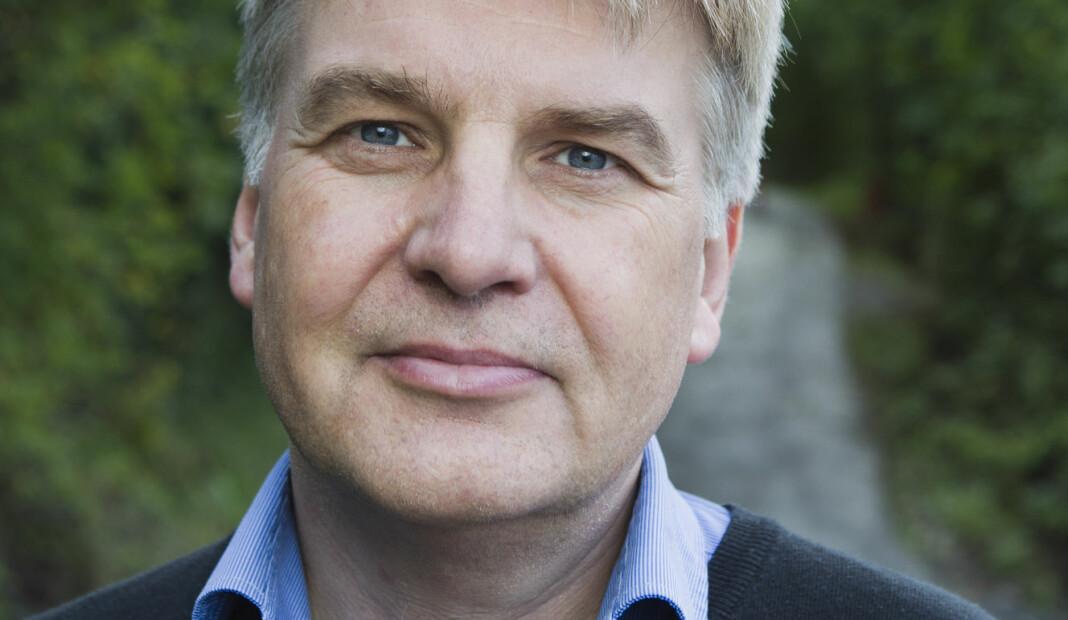 En mann fra Oslo er tiltalt for å ha drapstruet redaktør Erik H. Sønstelie i Oppland Arbeiderblad. Foto: Berit Roald / NTB scanpix