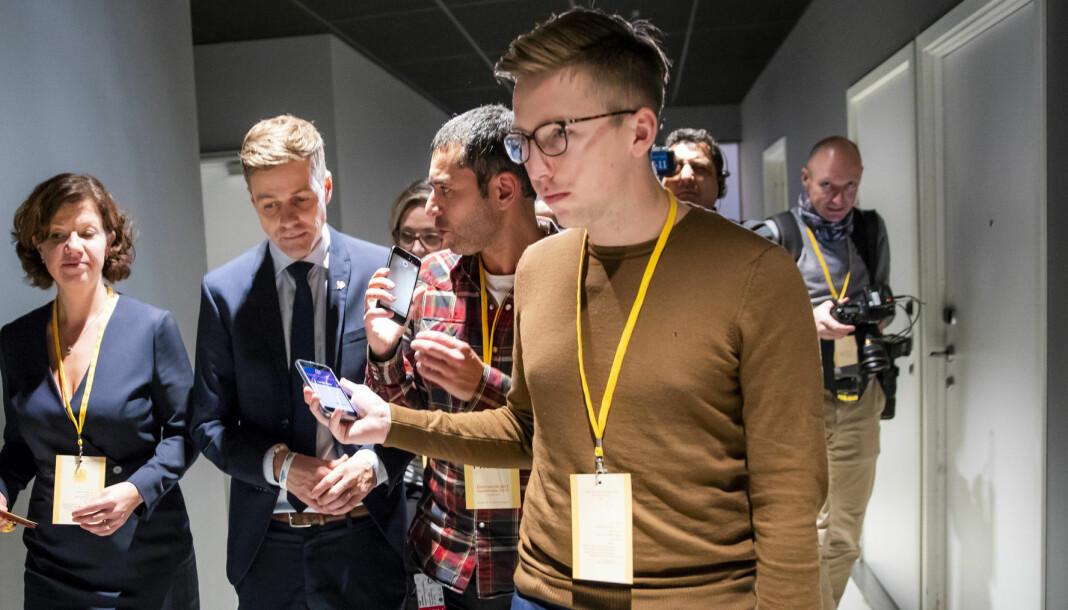 Lars Joakim Skarvøy er fremdeles i permisjon fra politisk avdeling i VG. Foto: Håkon Mosvold Larsen / NTB scanpix