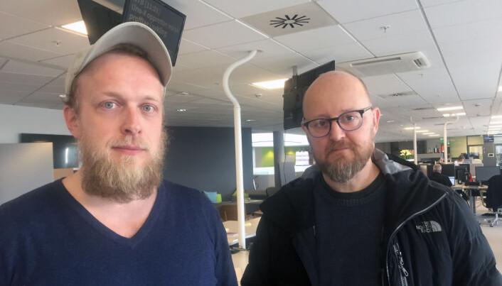 Torgeir Krokfjord og Lars Eivind Bones. Foto: Karin Madshus/Dagbladet