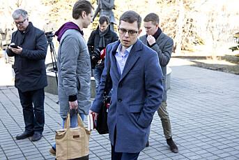 NRK-reporter stanset: Måtte slette bilde fra Frode Berg-saken