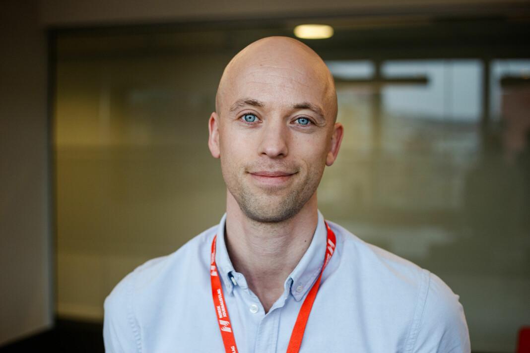 Norsk Journalistlags nye jurist, Mads Backer-Owe, startet 1. april. Foto: Eskil Wie Furunes