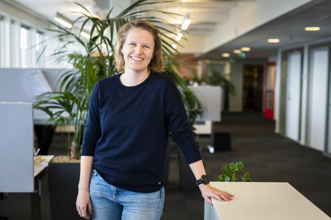 Mari Torsdotter Hauge blir Norsk Journalistlags nye arrangementsansvarlige. Foto: Kristine Lindebø