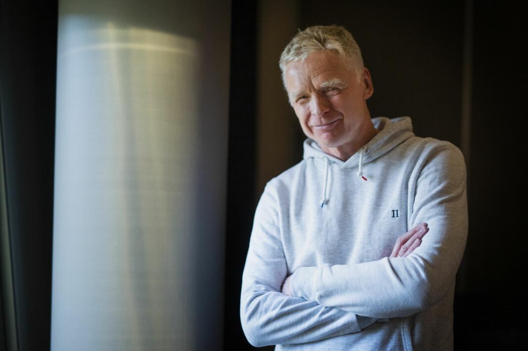 – Lær reglene så godt at du vet når du skal bryte dem, sier Svein Kjølberg, coach for historiefortelling og nyhetssjef i VG Helg. Foto: Kristine Lindebø