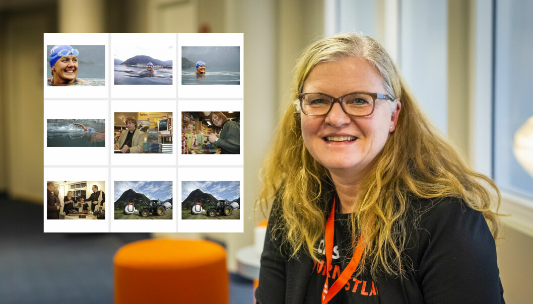 Frilanser Oddrun Midtbø var ikke forberedt på at flere av hennes bilder kunne kjøpes via NTB scanpix. Foto: Kristine Lindebø / Oddrun Midtbø