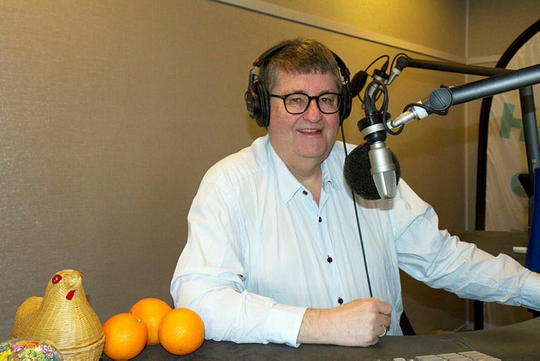 NRKs Viggo Valle har ledet det populære spørreprogrammet «Påskelabyrinten» i en årrekke. Foto: Jon-Annar Fordal (innsendt)