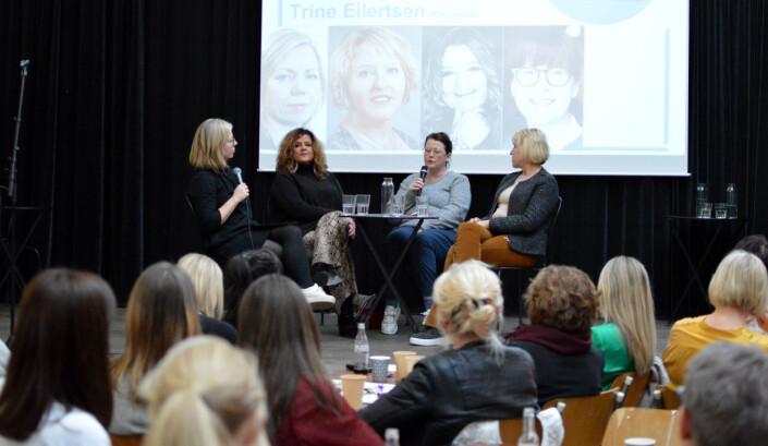 Fra venstre Trine Eilertsen, Signy Fardal, Hanne Tømta, Grethe Gynnild-Johnsen. Foto: Nils Martin Silvola